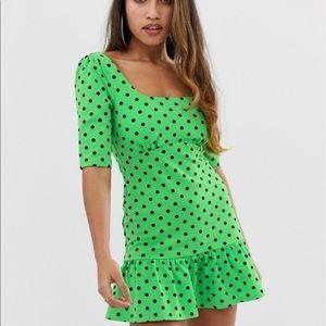 ❗️Brand NEW Petite Polka Dot mini dress, size 10❗️